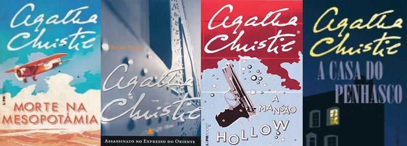 Indicação de livros disponíveis: Agatha Christie