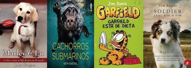 Indicações de livros disponíveis: animais!