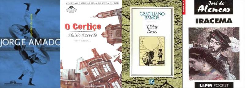 Indicação de livros disponíveis: clássicos nacionais